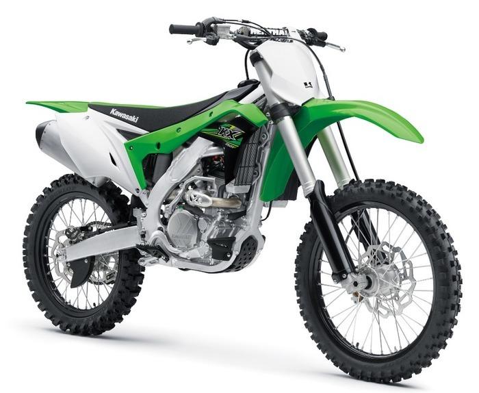 2017年モデル KX250F ! ライムグリーン メーカー希望小売価格 772,200円 (本体価格715,000円、消費税57,200円)